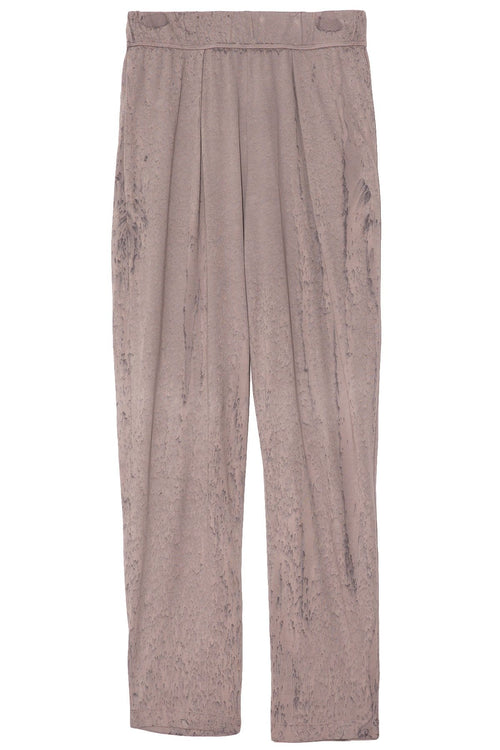 Easy Pant in Silver Tie Dye