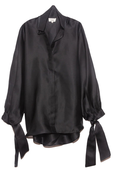 Lady Big Shirt in Black
