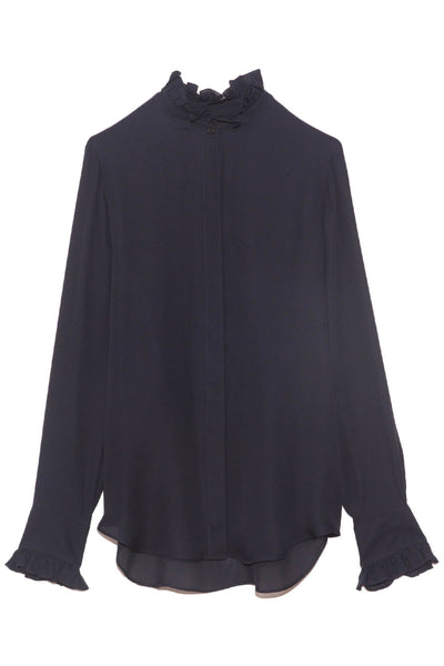 Aleia Shirt in Dark Navy