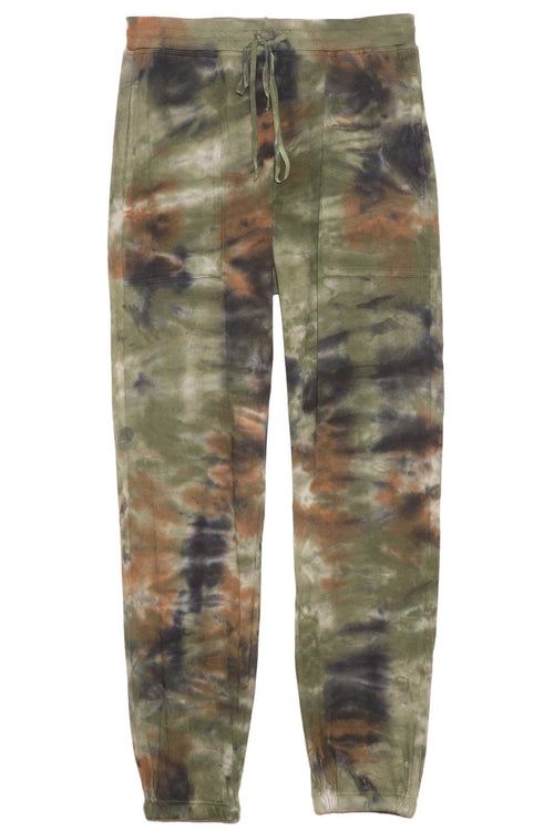 Jersey Pant in Army Camo