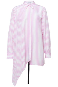 Striped Sensation Blouse in Pink White Stripes TS