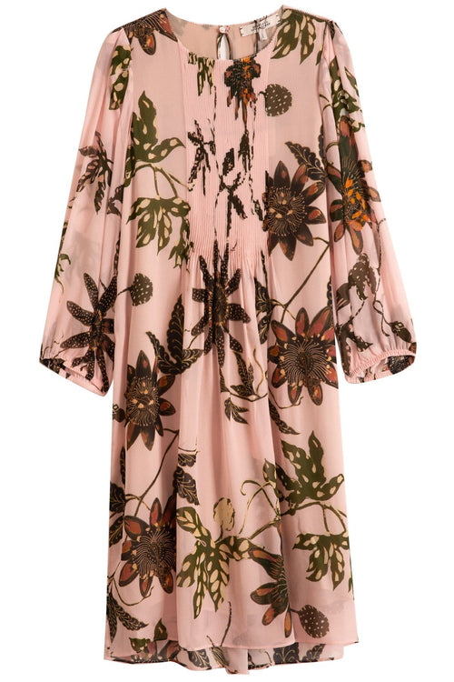 Floral Transparencies Dress in Rose Passiflora TS