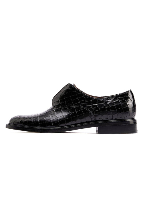 Rayane Loafer in Black Cocco