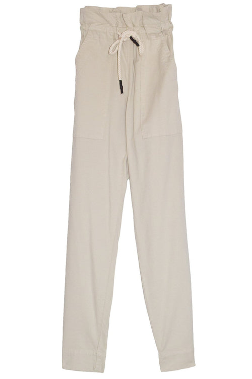 Dobby Cord Utility Pant in Stone