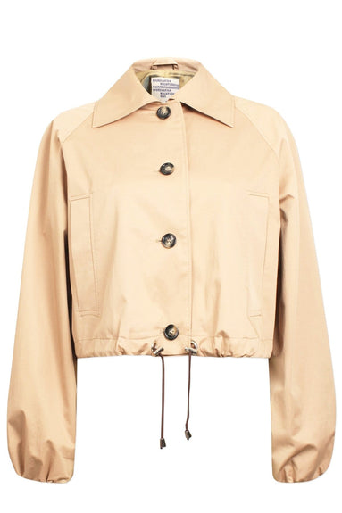 Blair Jacket in Cement Beige