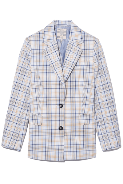 Brianna Jacket in Light Spring Check