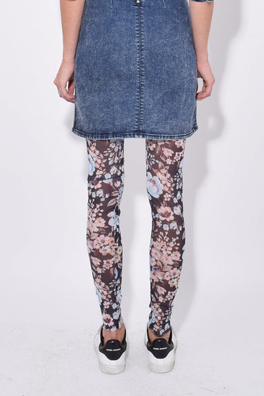 Jazzlyn Pant in Blue Navy Floral