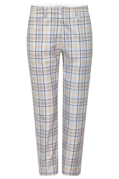 Nelma Pant in Light Spring Check