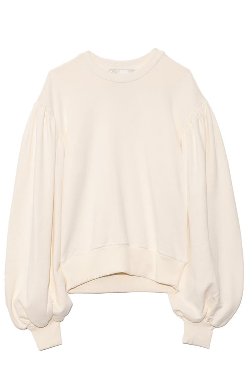 Larice Top in Off-White