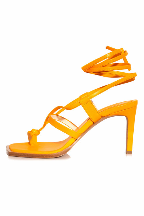 Ryo Glove Sandal in Mango