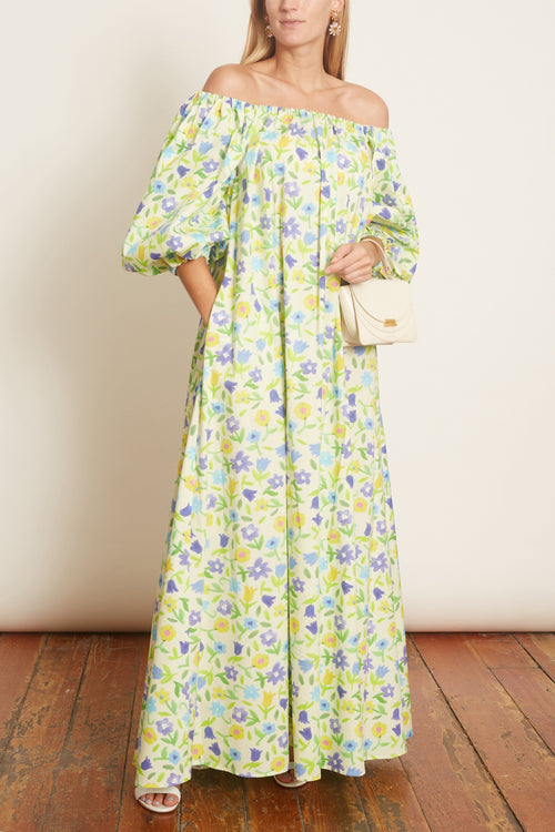 Bobby Cotton Poplin Dress in Jellypop Butter
