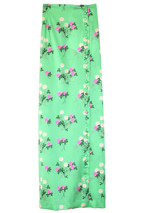 Kelly Skirt in Floral Pink/Green