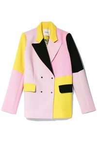 Contrast Gurli Blazer in Color Block