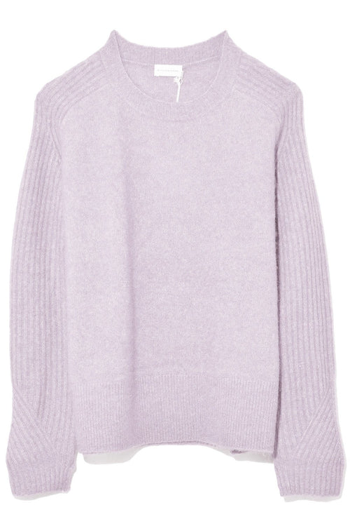 Ana Sweater in Cool Lavender