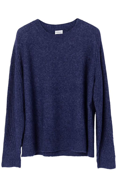 Ana Sweater in Night Blue