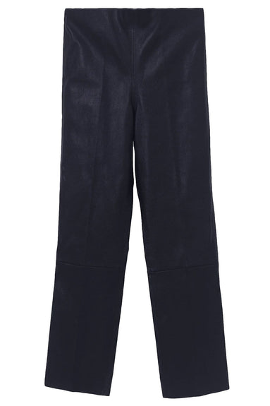 Florentina Leather Pant in Night Blue