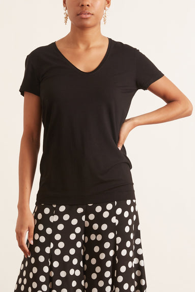 Fevia T-Shirt in Black