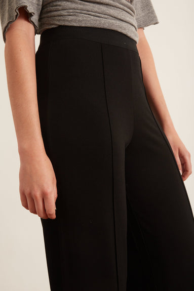 Miela Pant in Black