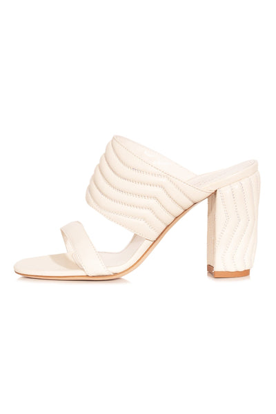 Lizzie Sandal in Egg Shell