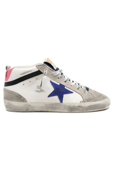 Midstar Sneaker in White/Ice/Bluette/Black/Fuchsia