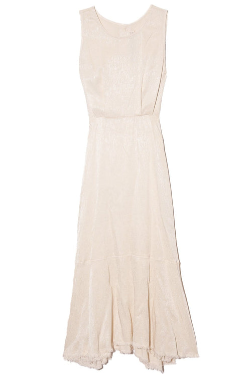 Frida Dress in Dirty White