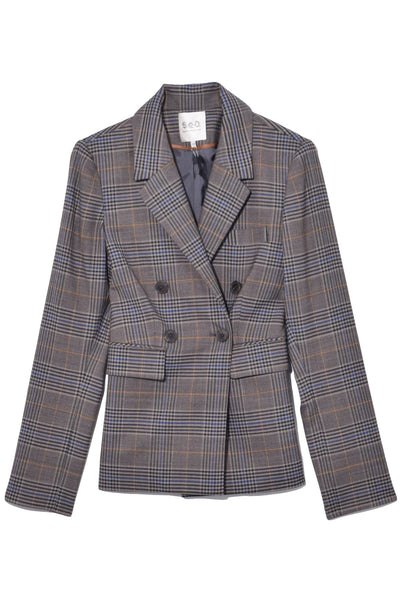 Rowan Blazer in Taupe Multi