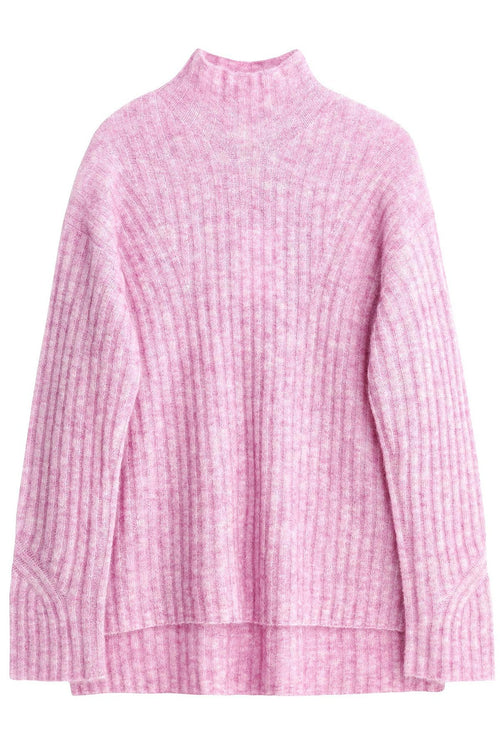 Cyrhila Pullover in Rose Pink