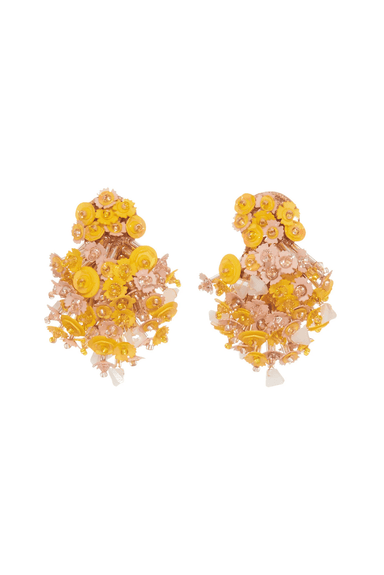 Nova Burst Earring in Yellow