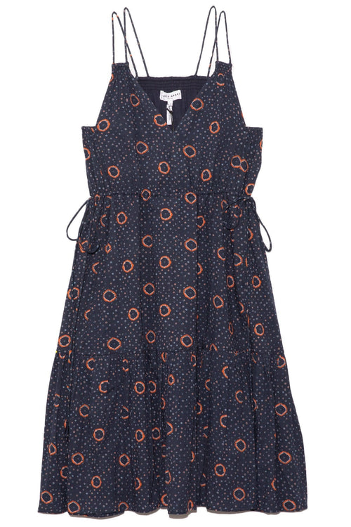 Daphne Dress in Shibori Dot