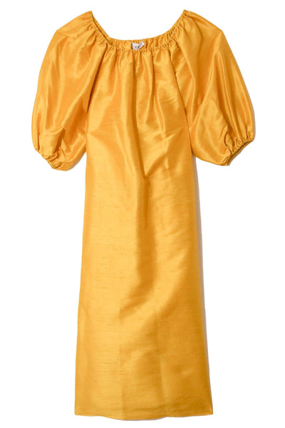 Tiptop Dress in Yellow