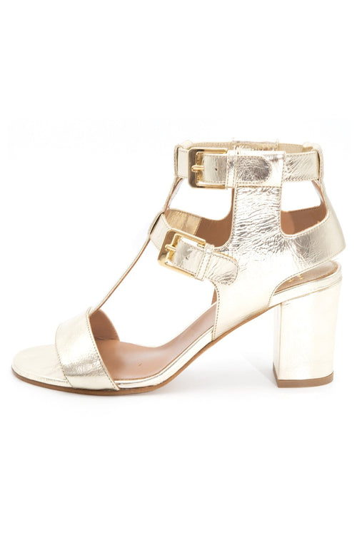 The Helie Summer Essential Sandal in Platine
