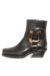 Motorcycle Boot in Black