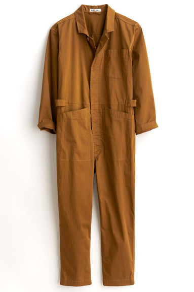 Standard Cotton Jumpsuit in Hickory
