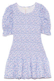 Luppa Dress in Crushed Blueberries