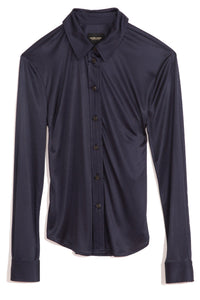 Thyme Shirt in Navy