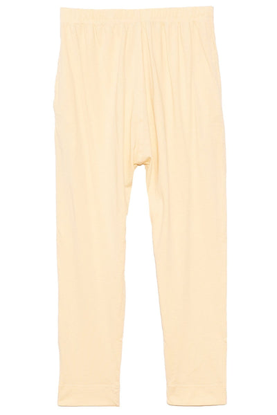 Panelled Midweight Jersey Pant in Pigment Yellow