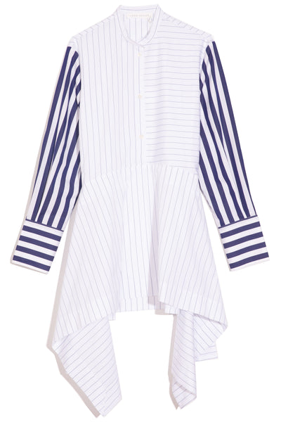 Edith Shirt in Blue Stripe