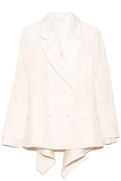 Suiting Jacket in Off White
