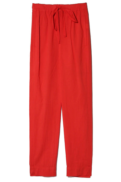 Draper Pants in Sunset Red