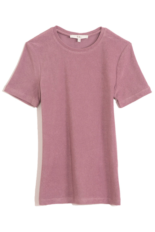 Dry Loop Terry Baby T in Dusty Plum