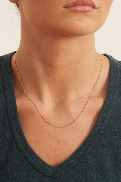 "20"" Chain Necklace in Yellow Gold"