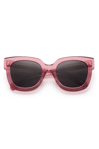 #008 Black Sunglasses in Guava