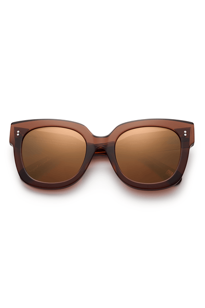 #008 Mirror Sunglasses in Coco