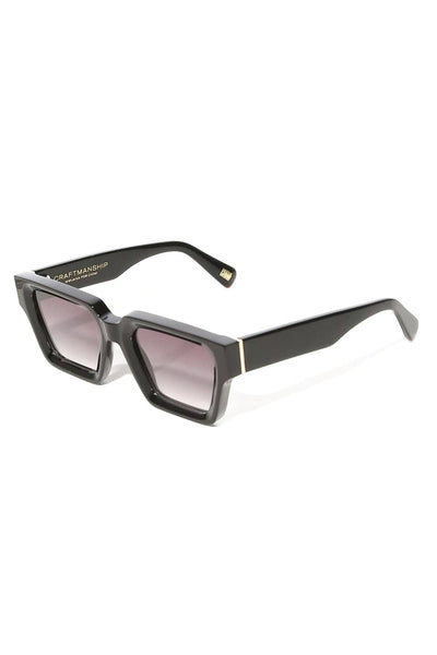 Craftsmanship Square Sunglasses in Black