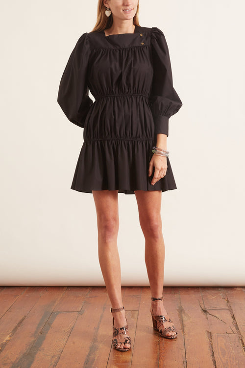 Alessandra Dress in Black