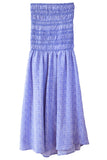Clio Skirt in Periwinkle