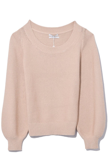 Boatneck Sweater in Sand