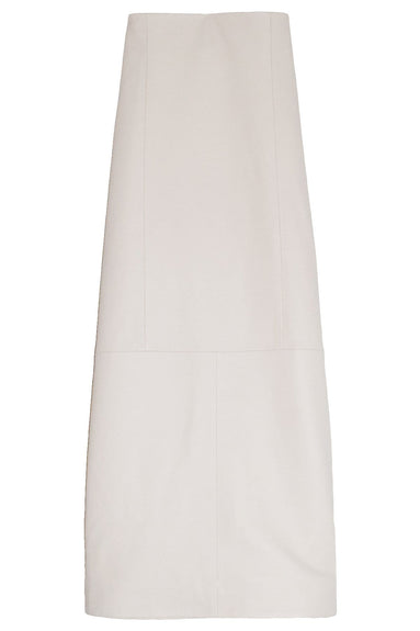 High Waisted Pencil Skirt in Ivory