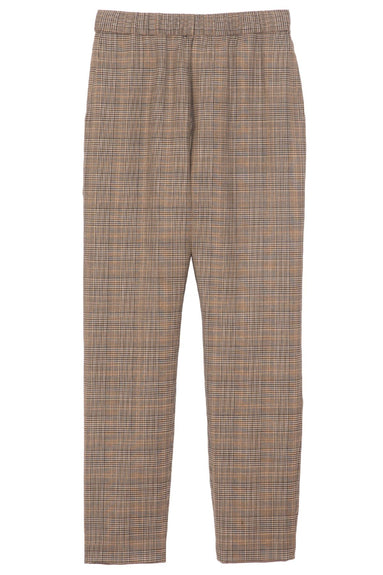 Delancy Pant in Grey/Blk/Tan Plaid