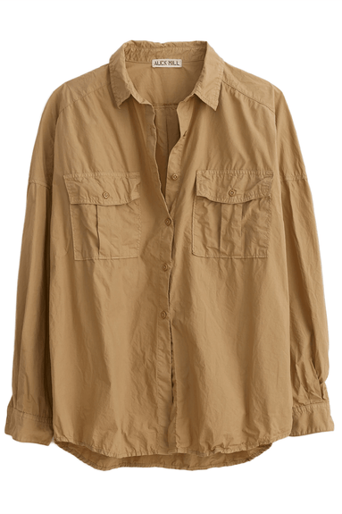 Keeper Button Down in Vintage Khaki